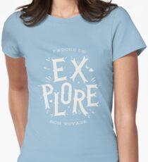 J'adore de Explore Women's Fitted T-Shirt