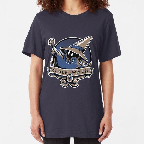 Black Magic School Slim Fit T-Shirt