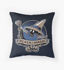 Black Magic School Throw Pillow