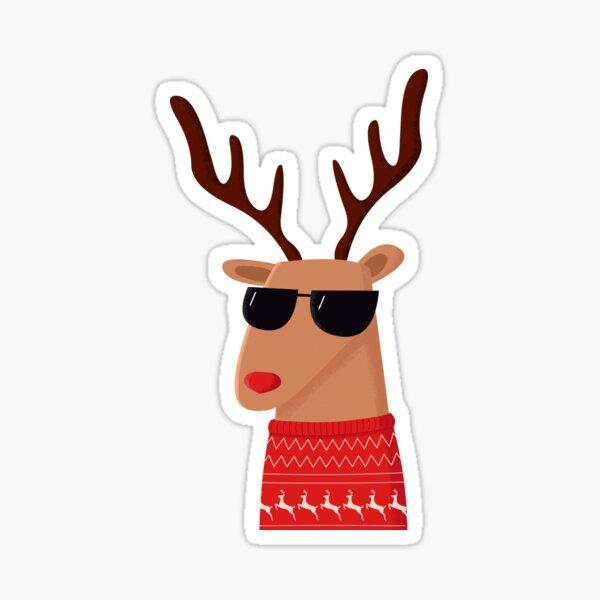 Merry Christmas Dude! Sticker