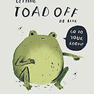 Toad off, toad shirt by louros