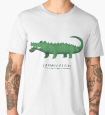croc cannibalism Men's Premium T-Shirt