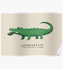 croc cannibalism Poster
