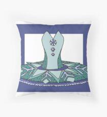 Ballet Tutu Design Throw Pillow