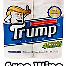 Donald Trump Toilettenpapier, Ass Wipe von RainbowRetro