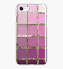 Color Chart Pink iPhone Case/Skin