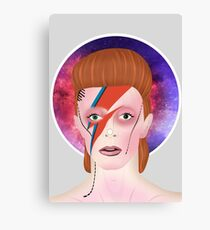 Theres a / Starman. Canvas Print