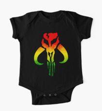Rasta Mandalorian Kids Clothes