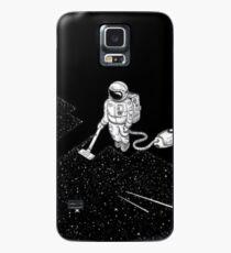 Cooler Raum-Kerl, der Raum-Sache tut Hülle & Klebefolie für Samsung Galaxy