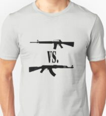 M16 vs. AK47 T-Shirt