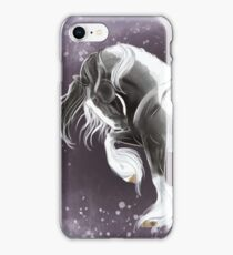 Gypsy gold - gypsy horse stallion prancing  iPhone Case/Skin