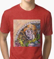 Camiseta de tejido mixto Genesis Fanart The Famous Charisma Label by Frank Grabowski