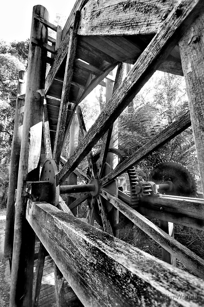 McVeigh's Water Wheel by Jim Worrall