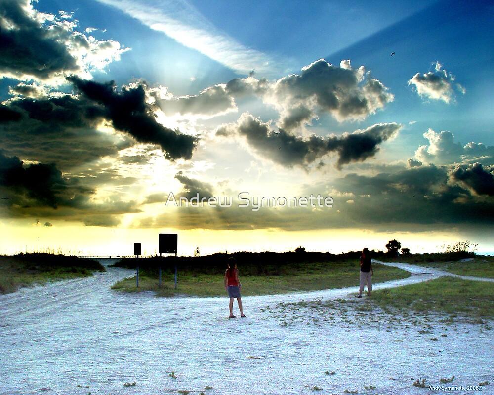 Sun Light through the sky 2006© by Andrew Symonette
