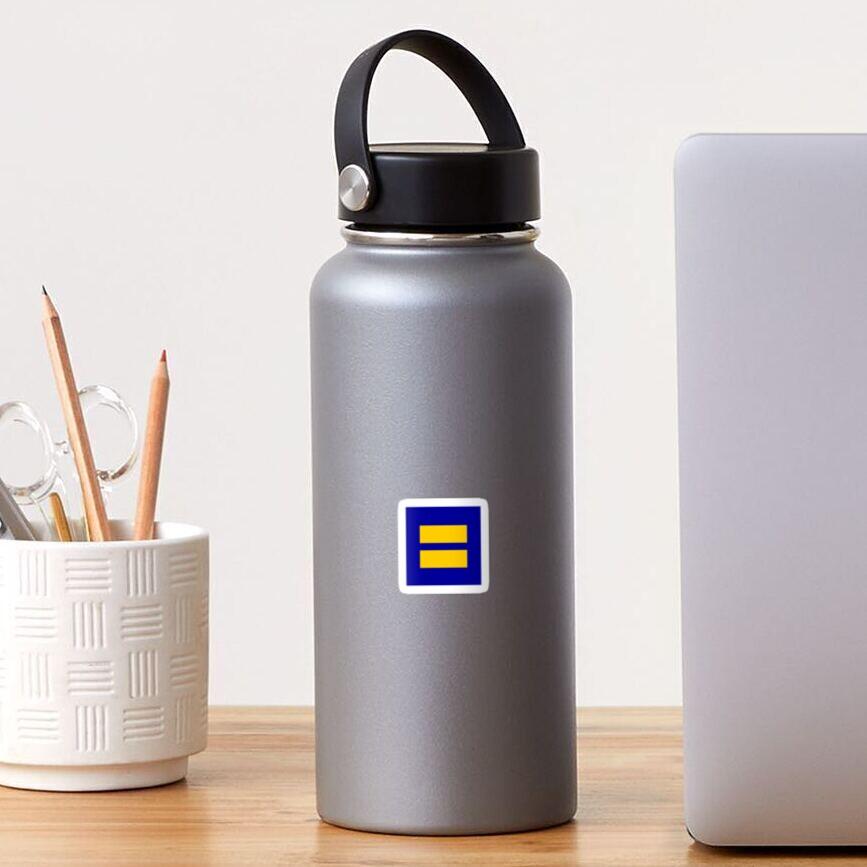 Menschenrechtskampagne Gleichstellungsaufkleber Sticker