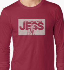Murder, She Wrote: Don't Mess With Jess  Long Sleeve T-Shirt