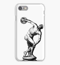 Discobolus iPhone Case/Skin