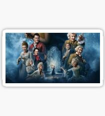 Beauty and the Beast Cast Sticker