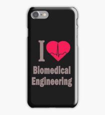 I Love Biomedical Engineering iPhone Case/Skin