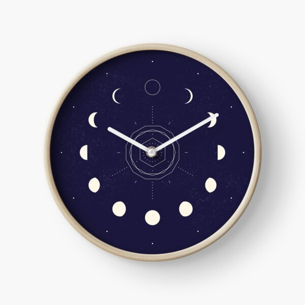 Moon Phases Clock
