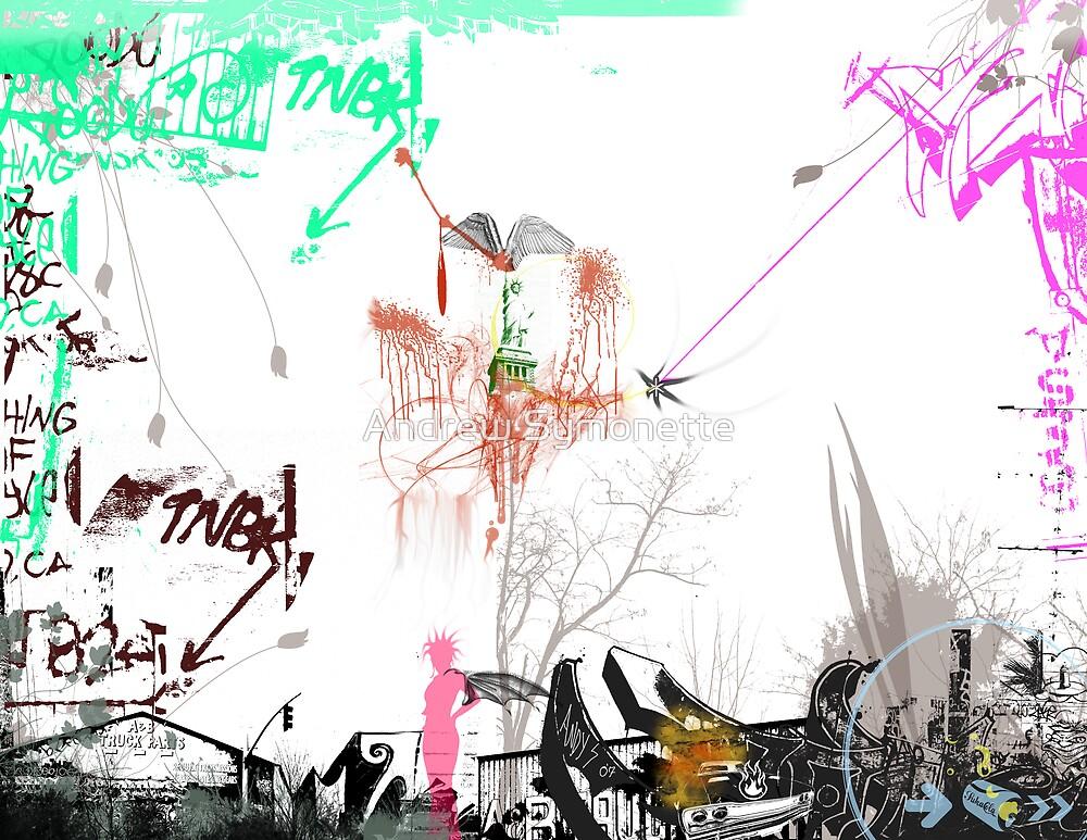 My Graffiti 3 2008© by Andrew Symonette