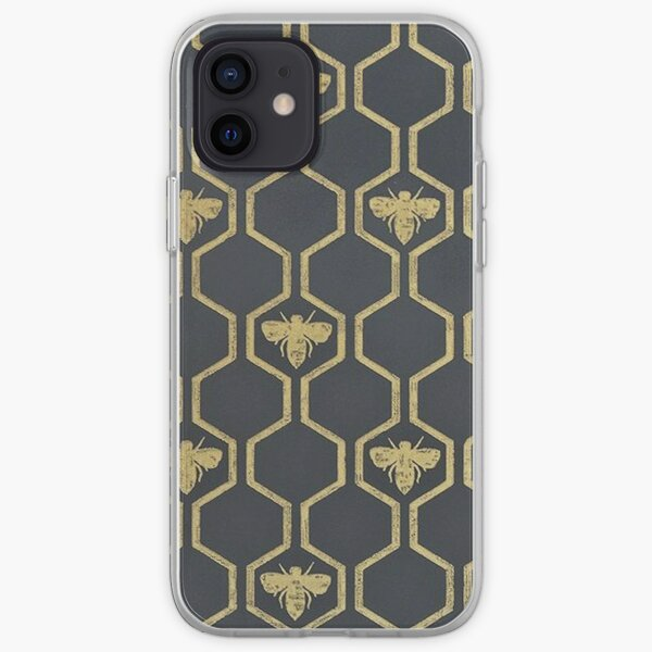 Manchester Bee Case iPhone Soft Case