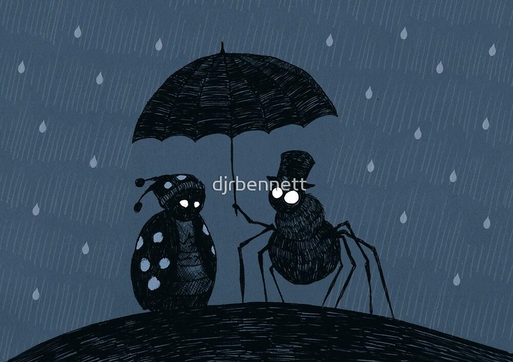 Bugs in the Rain by djrbennett