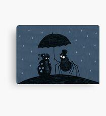 Bugs in the Rain Canvas Print