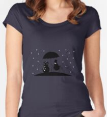 Bugs in the Rain Women's Fitted Scoop T-Shirt