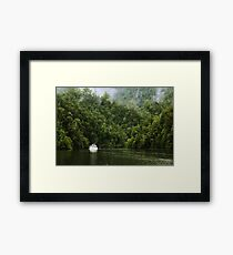 Mystic River Framed Print