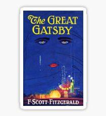 The Great Gatsby Print Sticker