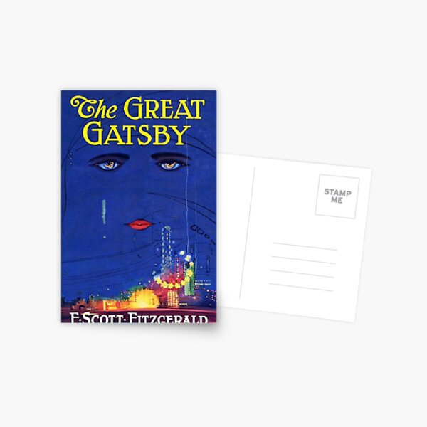 El Gran Gatsby Imprimir Postal