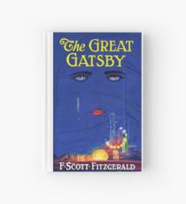 The Great Gatsby Print Hardcover Journal