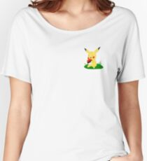 Pokemon Pikachu with pokeball Women's Relaxed Fit T-Shirt