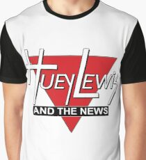 Huey Lewis and the News Graphic T-Shirt