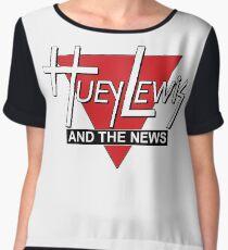 Huey Lewis and the News Women's Chiffon Top