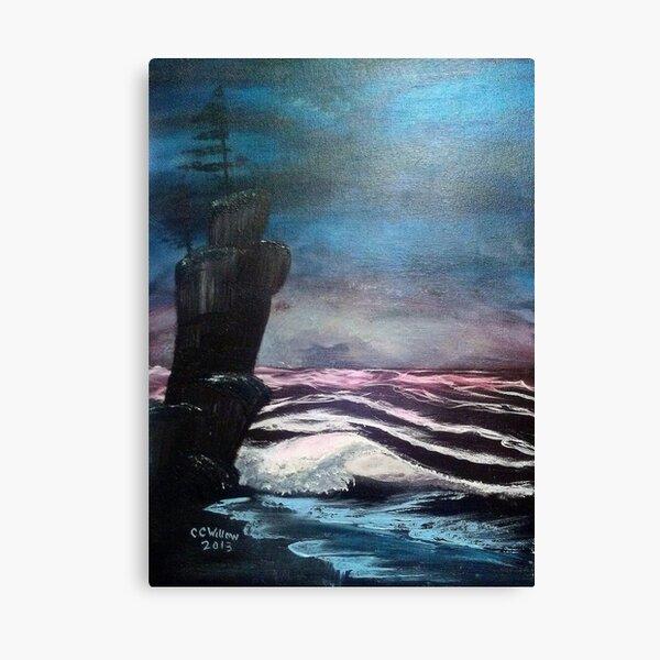 Midnight Beach Canvas Print
