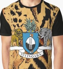 SWAZILAND COAT OF ARMS Graphic T-Shirt