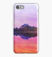 Serenity landscape 15  Watercolor  iPhone Case/Skin
