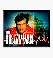 THE SIX MILLION DOLLAR MAN - TV. SHOW - LOGO Photographic Print
