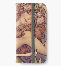Andersens kleine Meerjungfrau iPhone Flip-Case/Hülle/Klebefolie
