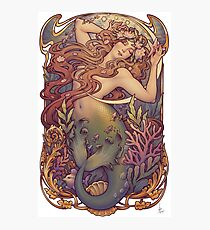 Andersen's Little Mermaid Photographic Print