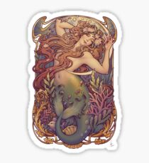 Andersen's Little Mermaid Sticker