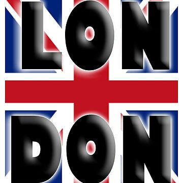 LONDON, UNION JACK, Brits, ENGLAND, IN COLOUR, UK, GB, Britain, BRITISH, by TOMSREDBUBBLE