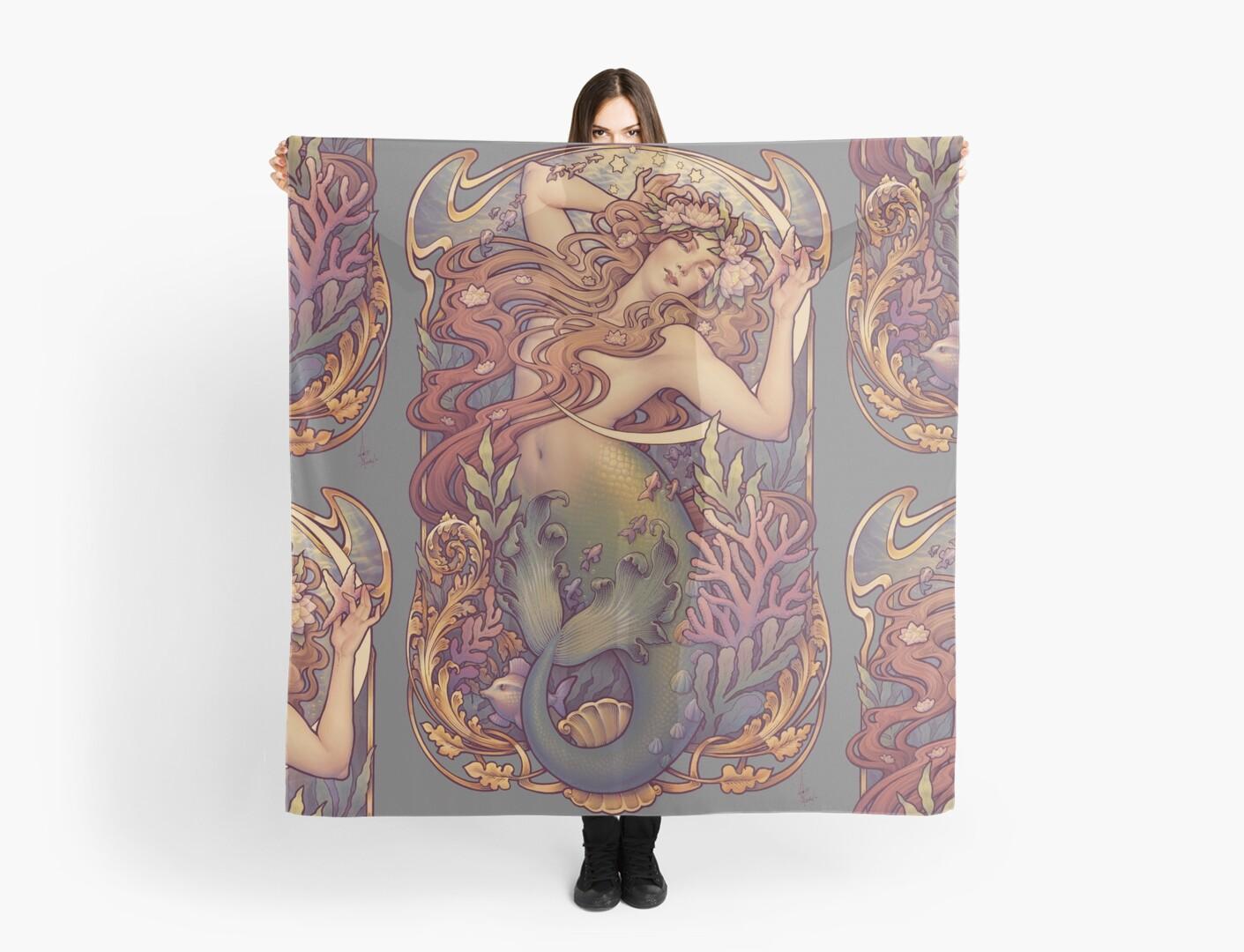 Andersen's Little Mermaid by Medusa Dollmaker