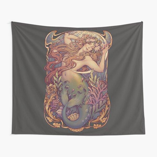 Andersen's Little Mermaid Tapestry