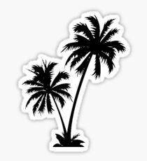 Palmiers Sticker fini brillant