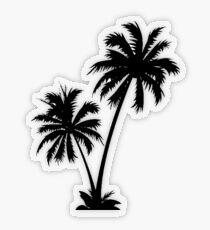 Palmen Transparenter Sticker