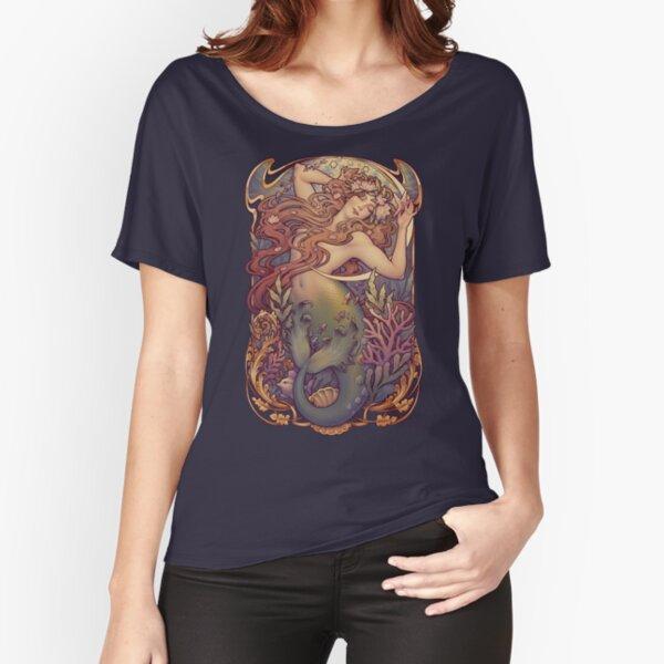 La sirenita de Andersen Camiseta ancha