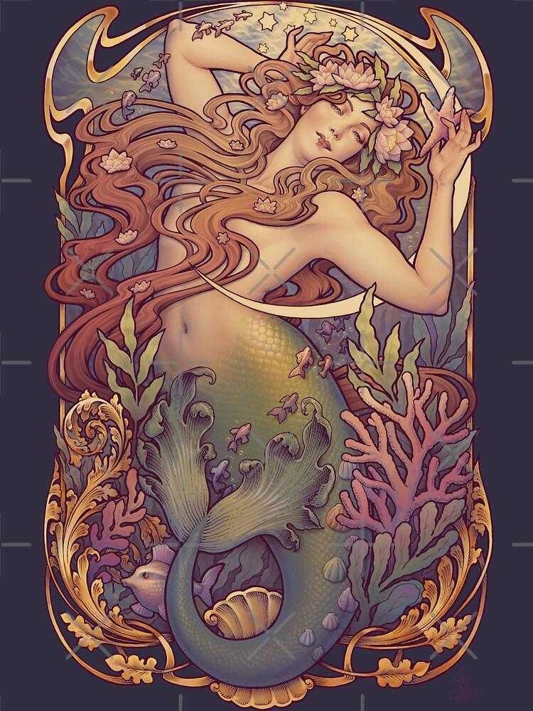 Andersen's Little Mermaid by medusadollmaker
